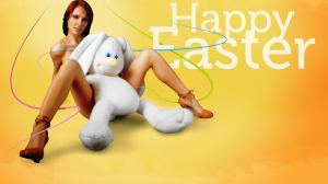 cute-girl-easter-bunny-hd-background