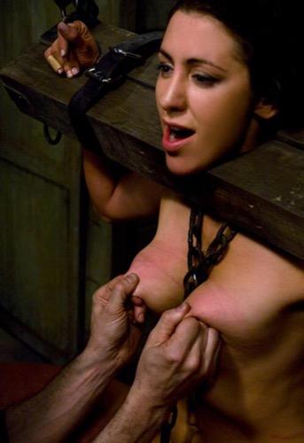 Nipple squeeze